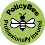 Professionally insured for Virtual Assistant work with PolicyBee