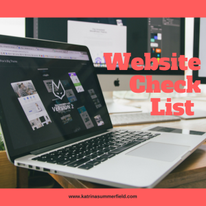 Website Check List
