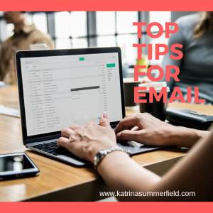 Top tips for email management
