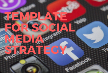 Template for Social Media Strategy